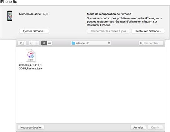 Installez iOS 9.2.1 sur votre appareil