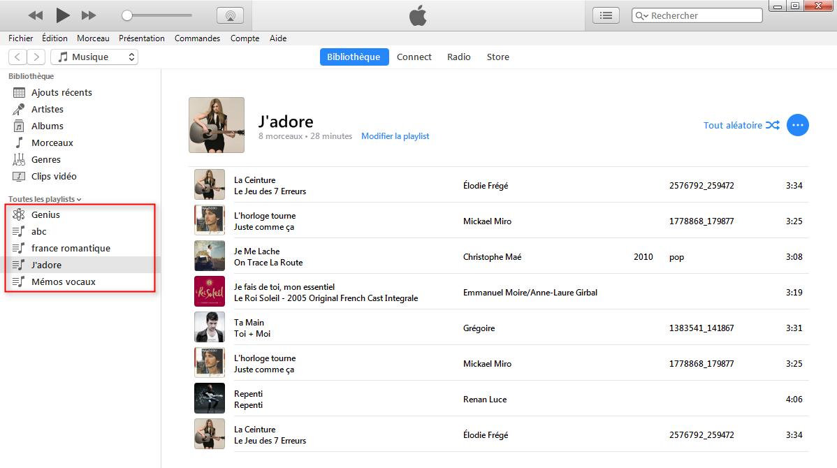 Graver CD avec iTunes 12 facilement-étape 1