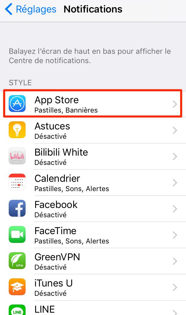 Comment utiliser les notifications sur iPhone