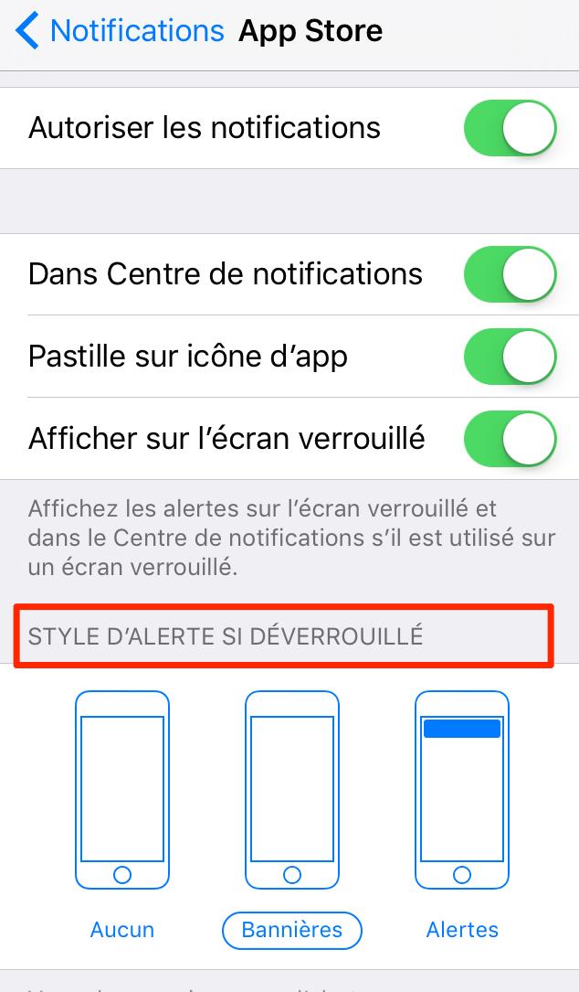Comment utiliser les notifications des applications