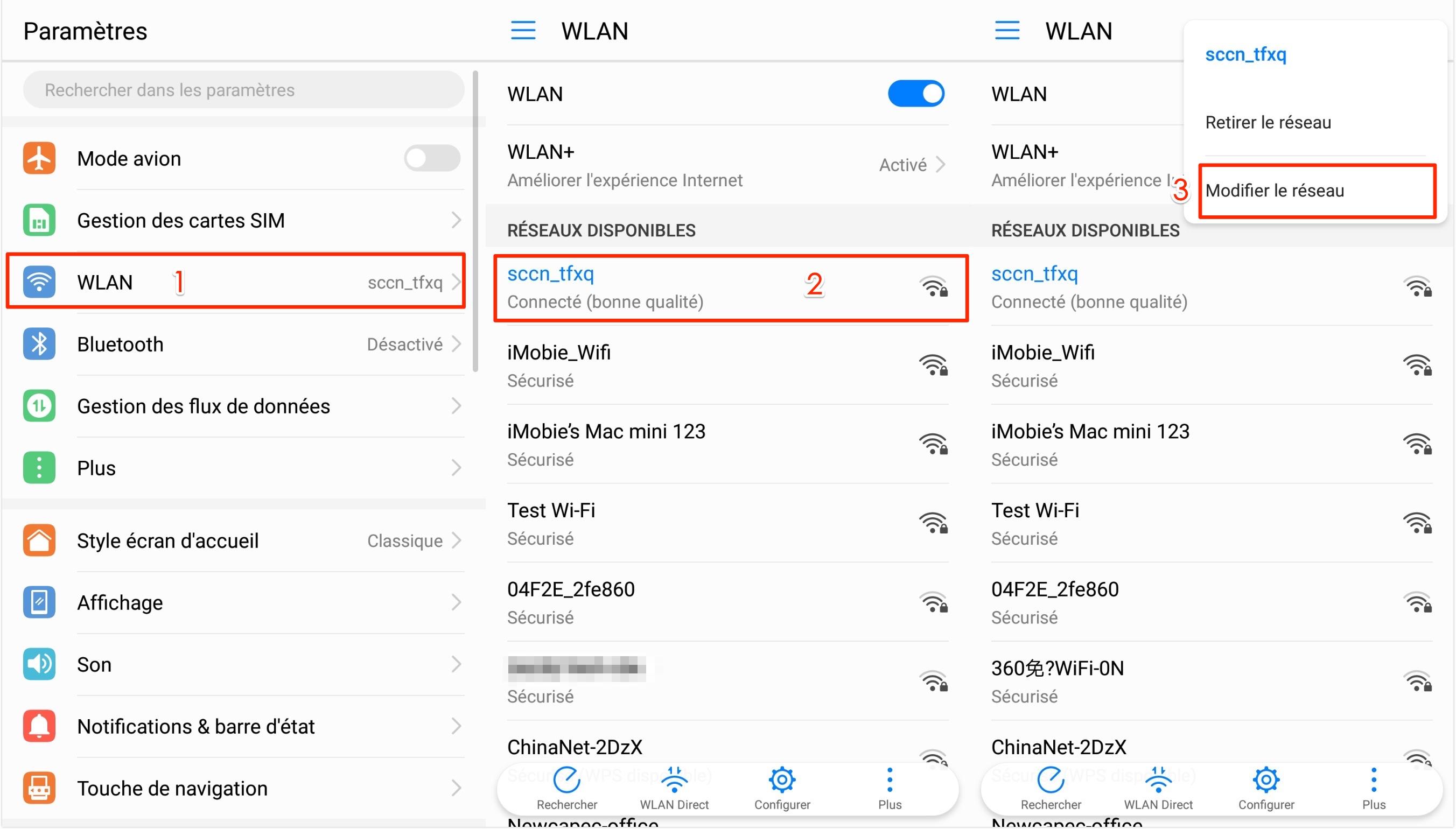 Comment changer les serveurs DNS sur Android - étape 1