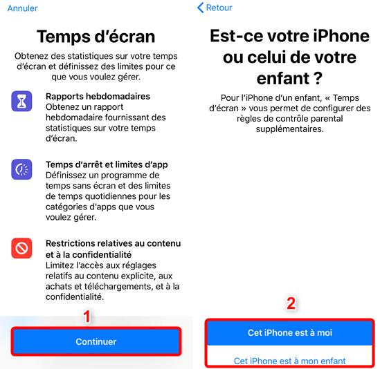 Comment accéder aux restrictions sur iPhone iOS 12 - Étape 2