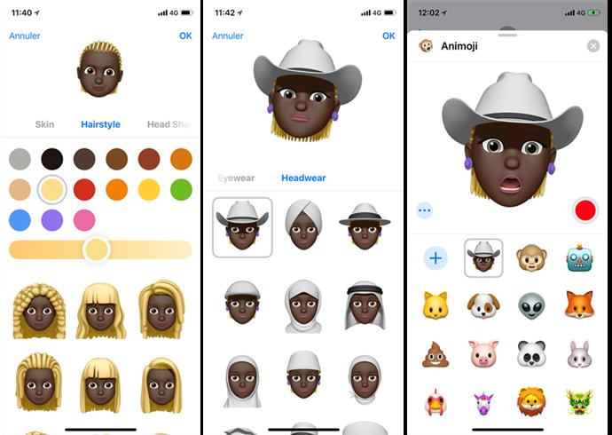 Créer et utiliser Memoji iOS 12 sur iPhone X