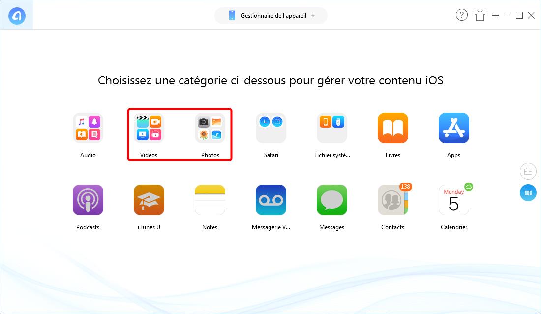 Transférer un e-mail avec pièce jointe sur iPhone - Étape 1
