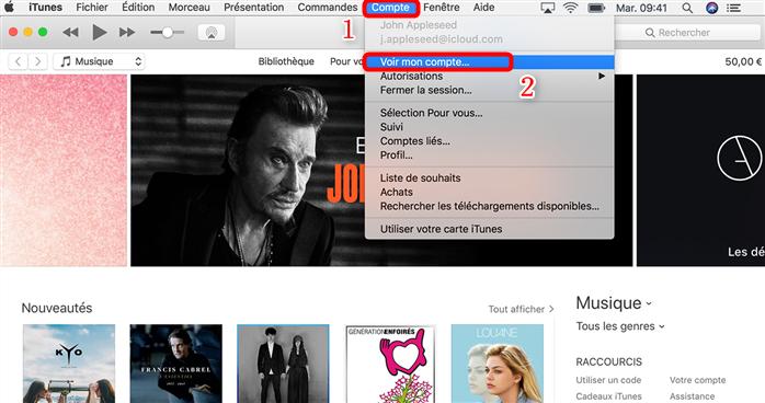 Gestion des abonnements iTunes sur PC/Mac