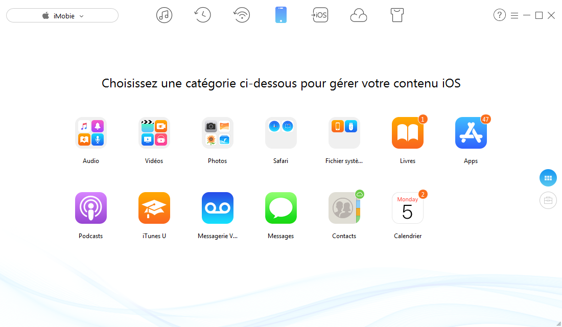 Comment transférer les données App entre iPhone