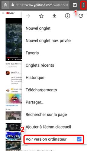 Écouter de la musique Youtube en arrière-plan sur Android – étape 1
