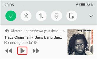 Lire la vidéo Youtube en arrière-plan sur Android – étape 2