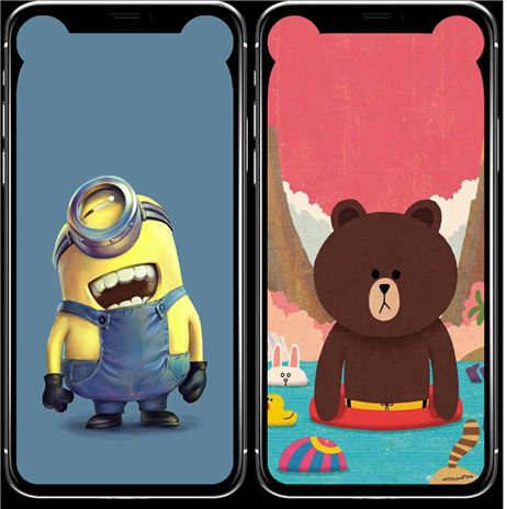 Fonds d'écran animés iPhone X