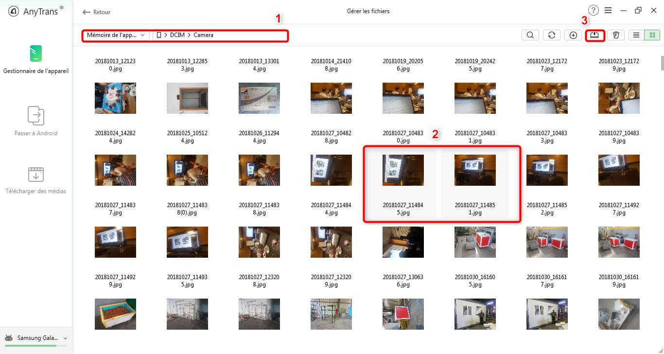4 Moyens De Transferer Les Photos Samsung Vers La Carte Sd Imobie