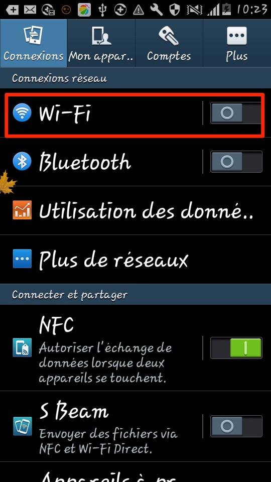 Xperia est impossible de se connecter au Wi-Fi