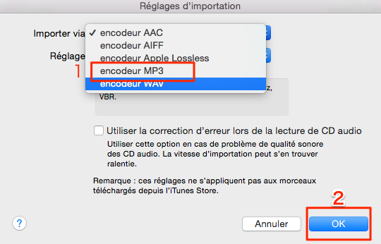 Comment convertir les musiques en MP3 sur iTunes