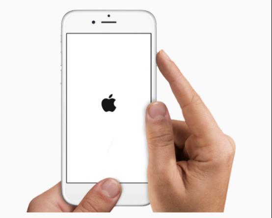 Problème de restauration iPhone - Forcez le redémarrage de l'appareil