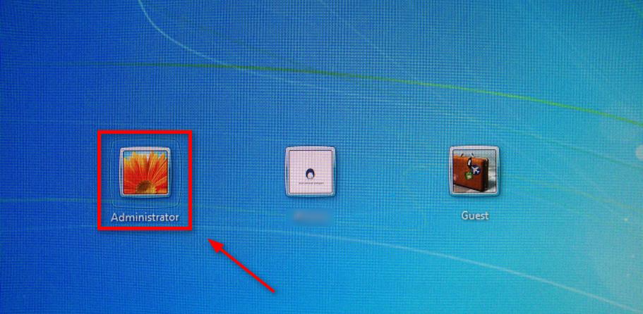 Vous connecter en tant qu'administrateur sur PC