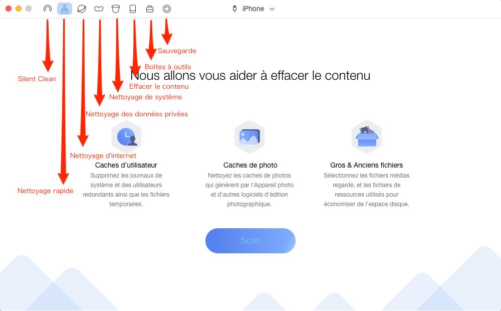 Nettoyer cookies afin d'ouvrir Safari sur iPhone/iPad