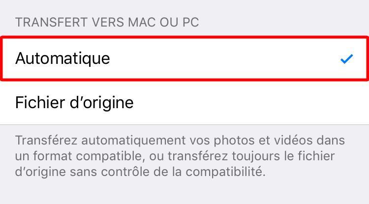 Comment exporter les photos iPhone sur PC au format JPEG