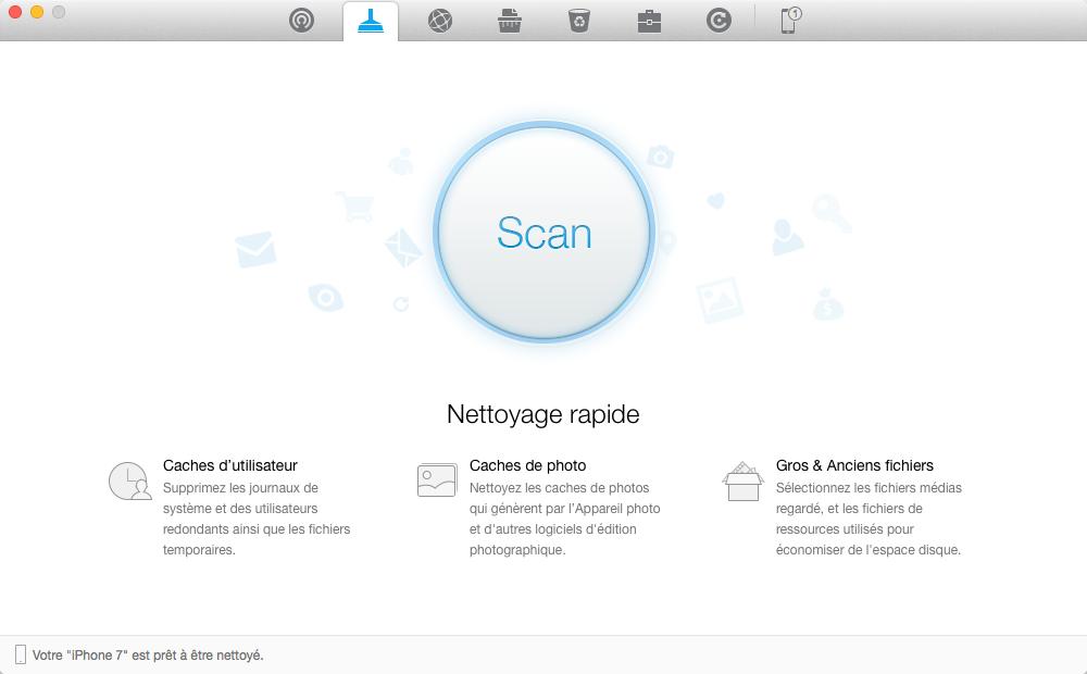 Nettoyer iPhone 4/4s/5/5s/6/6s/7/7 Plus avec facilité