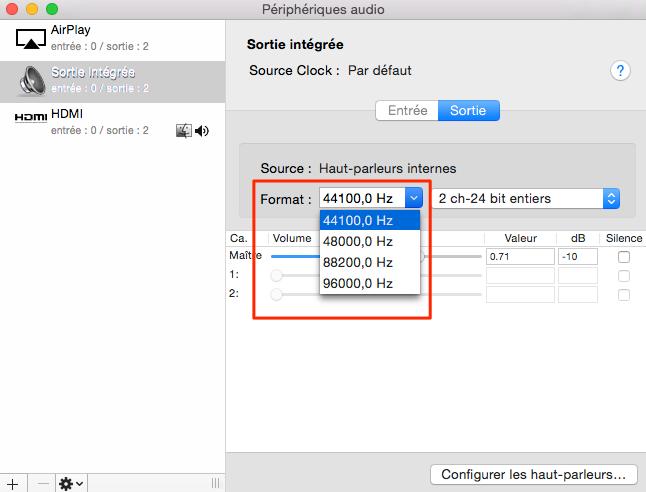 Comment faire si le son bloqué sur Mac
