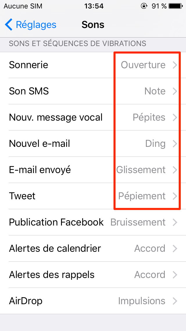 comment faire   plus de son sur mon iphone