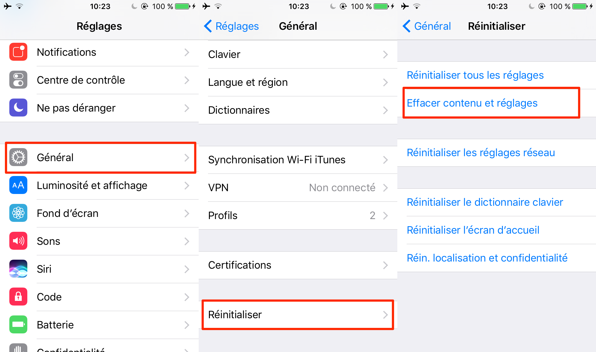 Comment restaurer iPhone sans iTunes