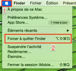 Comment quitter les applications par force sur Mac
