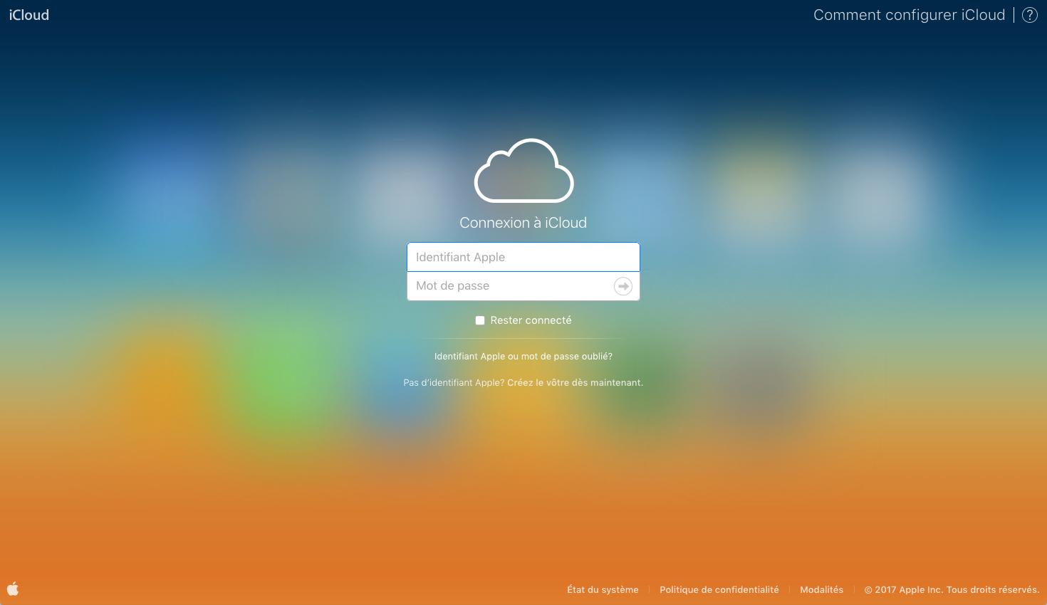 Supprimer les contacts iCloud en facilité – étape 1