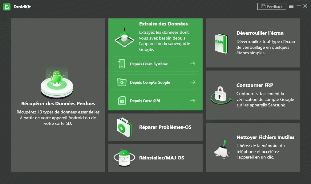 Comment activer DroidKit sur votre ordinateur