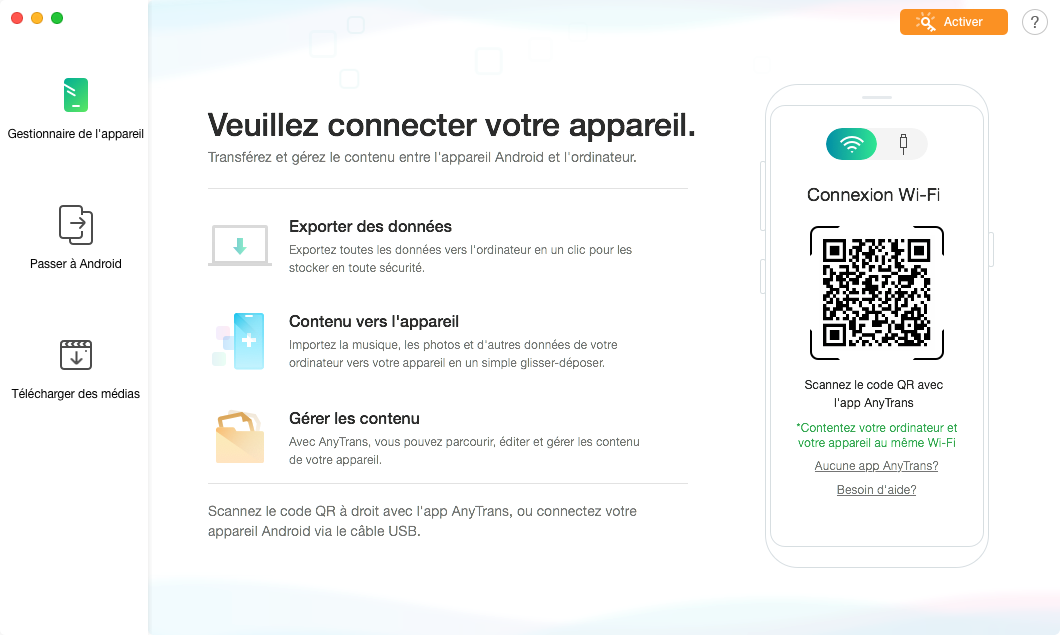 Comment commencer AnyTrans pour Android - 6