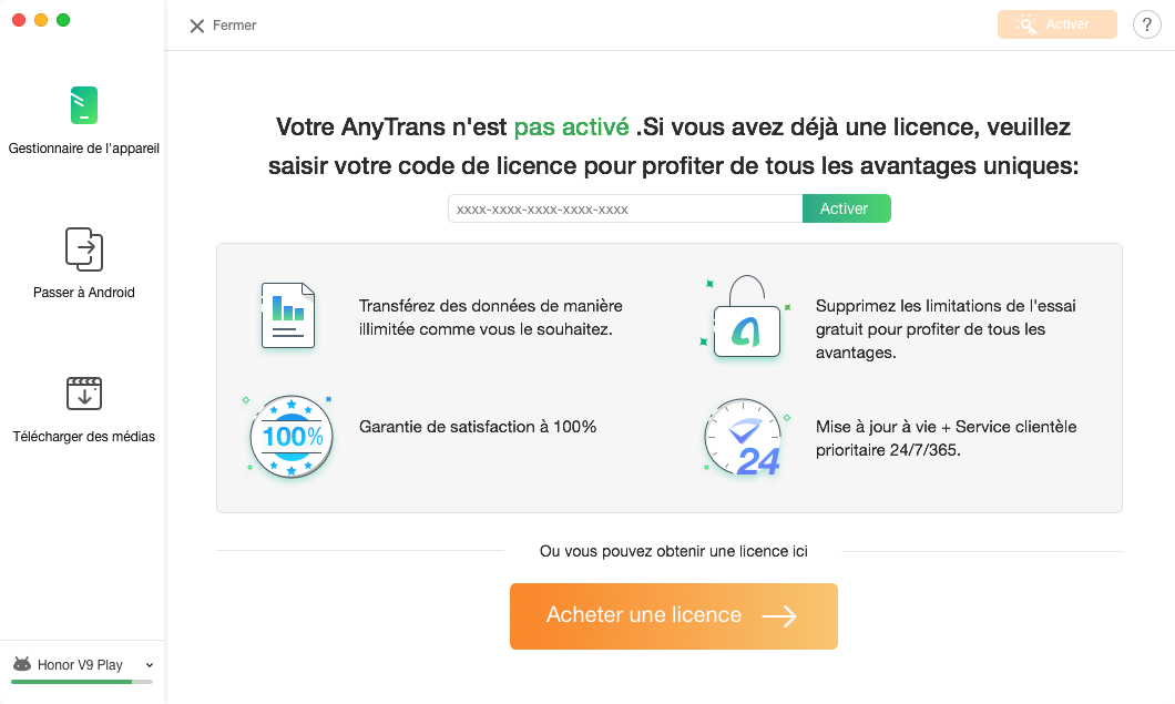 Comment commencer AnyTrans pour Android - 8