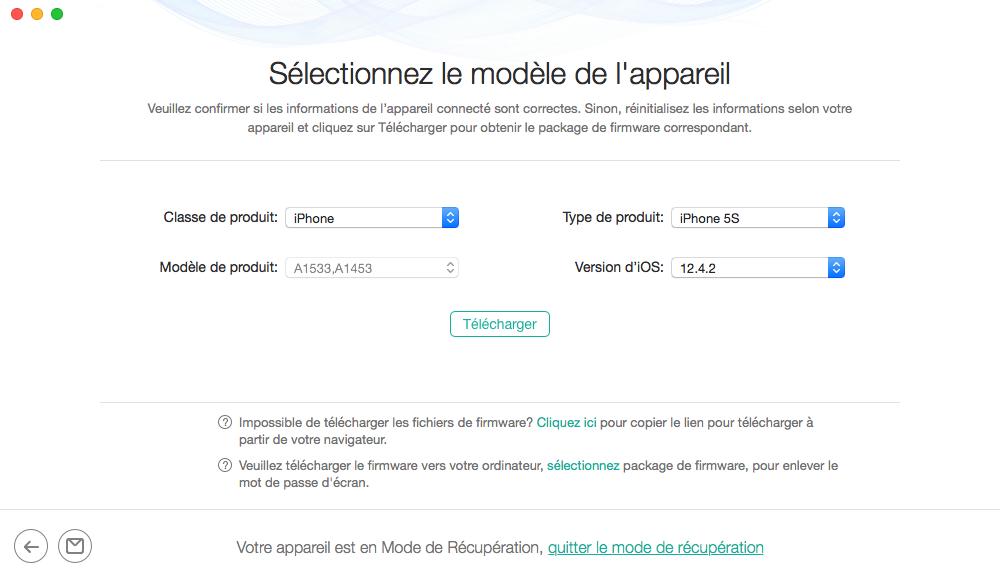 Débloquer iPhone sans code - 3