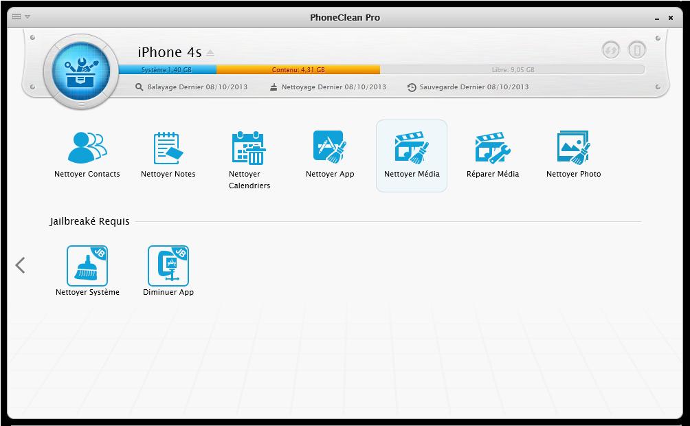Enlever/Réparer les Fichiers Multimédias 2