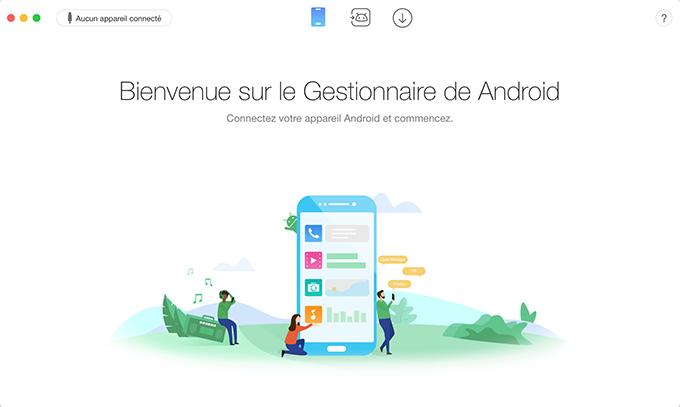 Connectez appareil Android