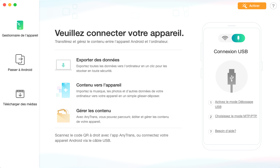 Gestion des sonneries Android -1