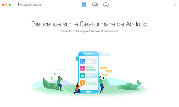 Déconnexion du périphérique Android