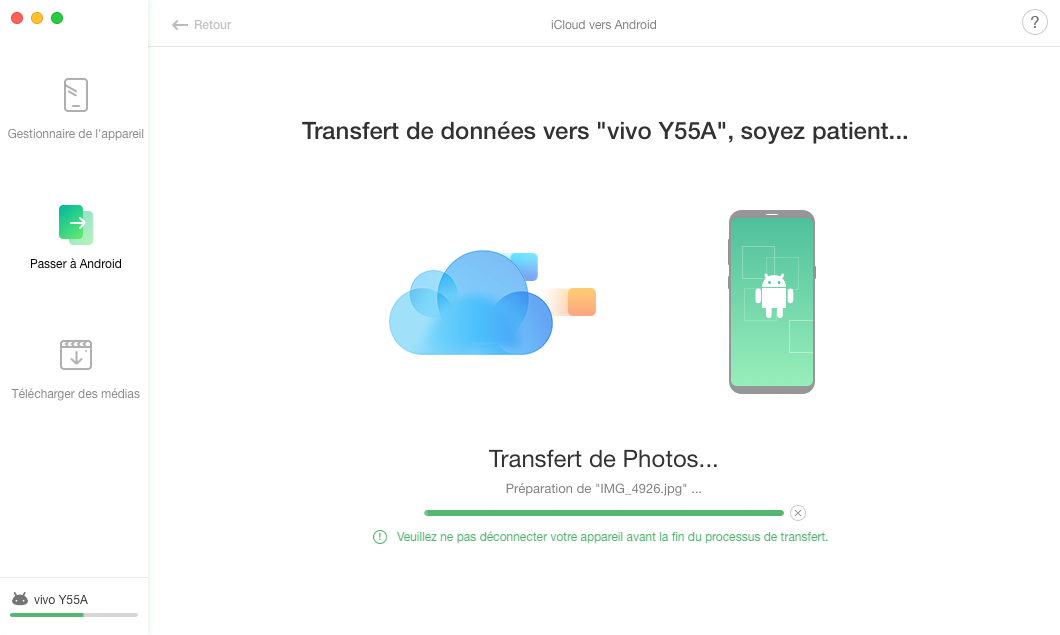 iCloud vers Android - 5