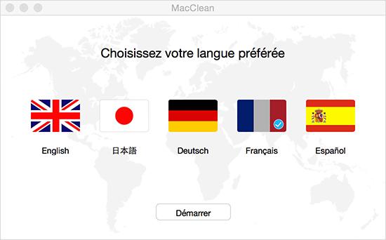 Choisir votre langue préférée