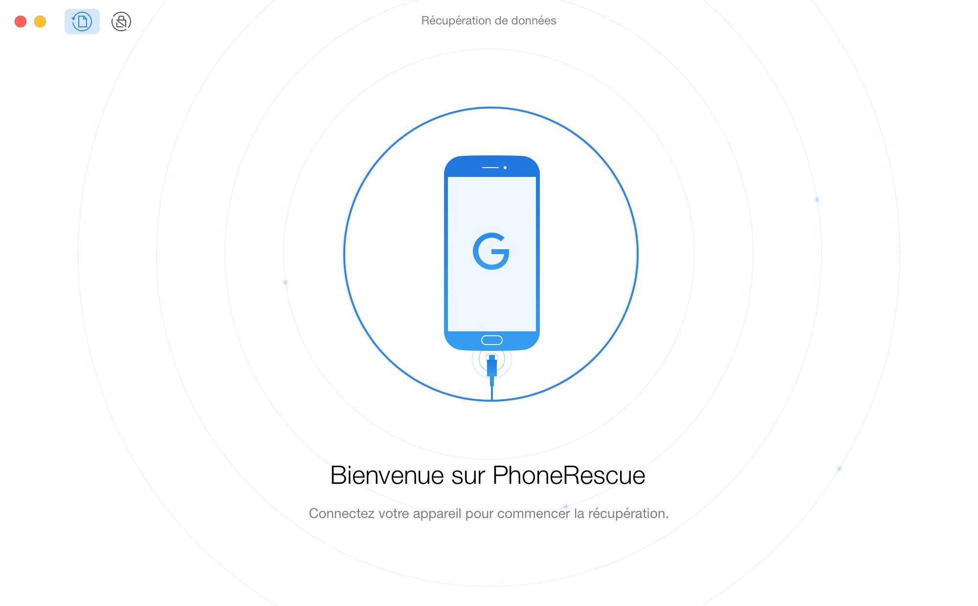 Branchez votre appareil Android
