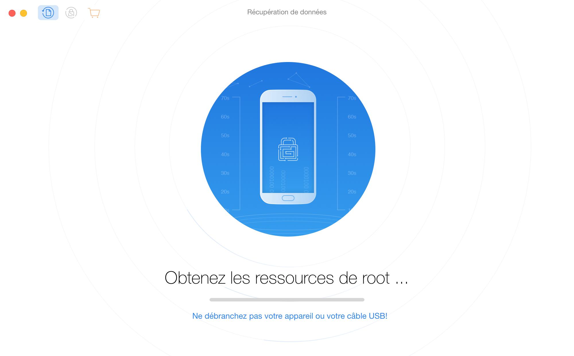 Root de l'appareil Android