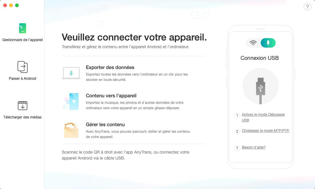 Sauvegarde iTunes vers Android - 1