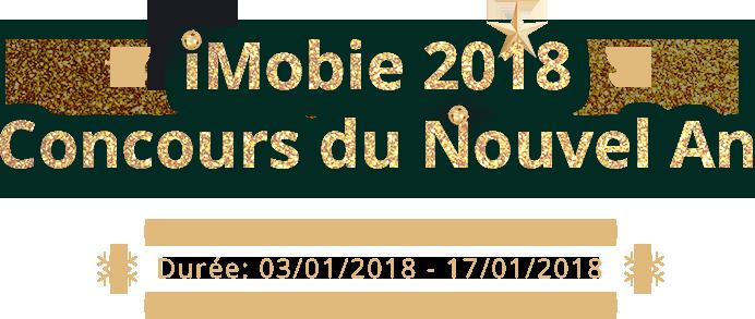 iMobie 2018 Concours du Nouvel An