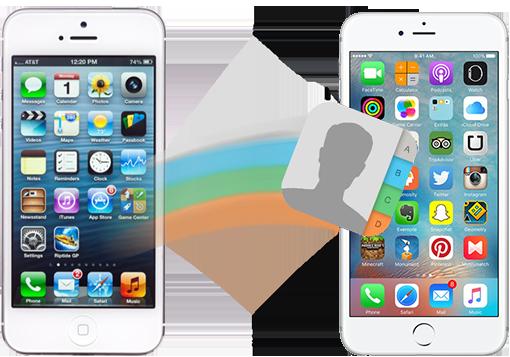 Comment transférer les contacts d'un ancien vers un nouvel iPhone1
