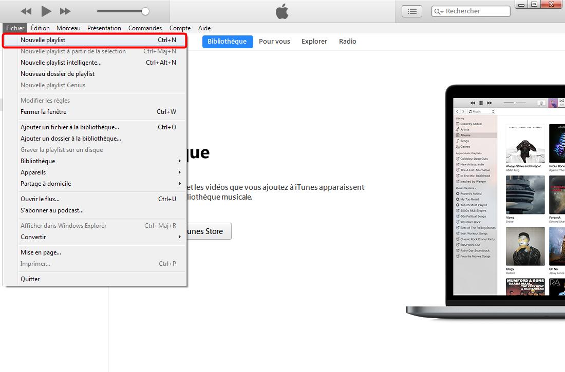 Comment ajouter une playlist sur iPhone X – étape 1