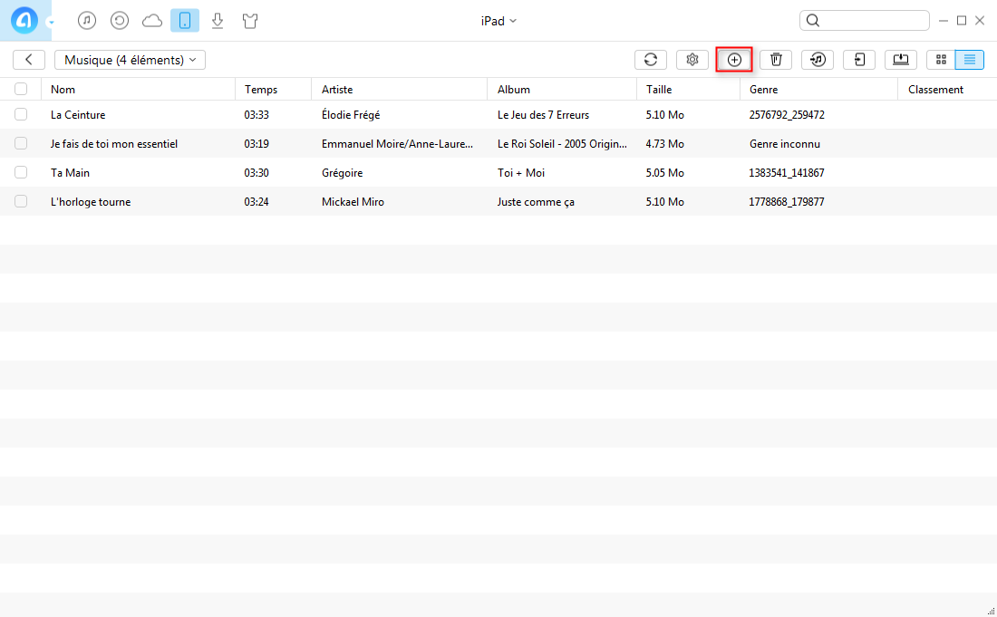 Transférer des photos depuis iPod vers PC – étape 3