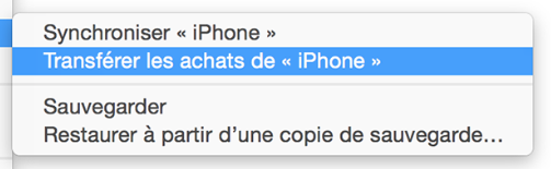 Comment transférer de la musique depuis iPhone 8 vers Mac