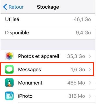 Supprimer vos messages inutiles