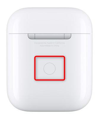 Activation de la connexion sans fil des Airpods