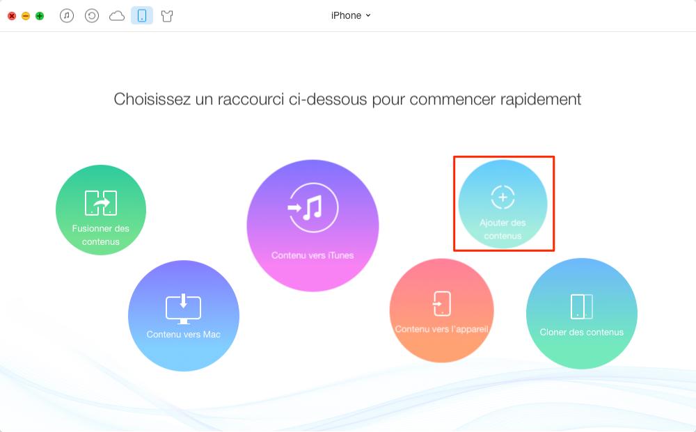 Ajouter une sonnerie sur iPhone - étape 2