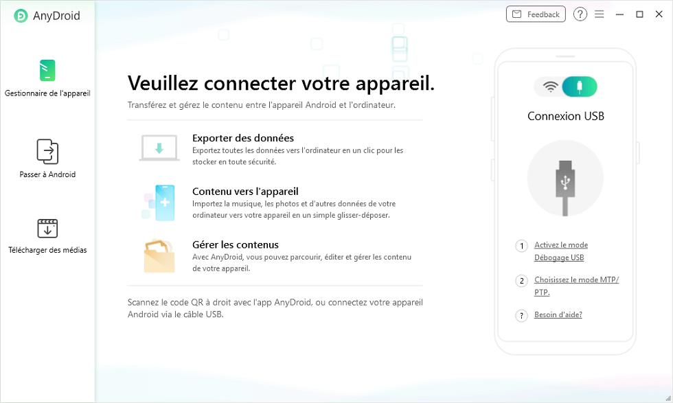 Connectez votre téléphone