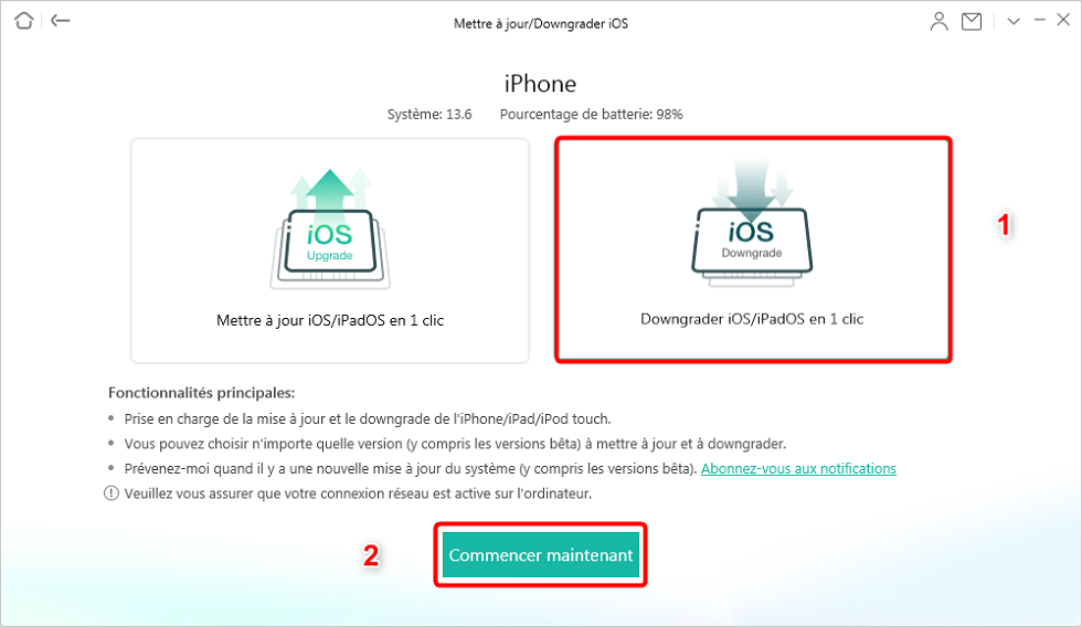 Downgrader iOS iPadOS