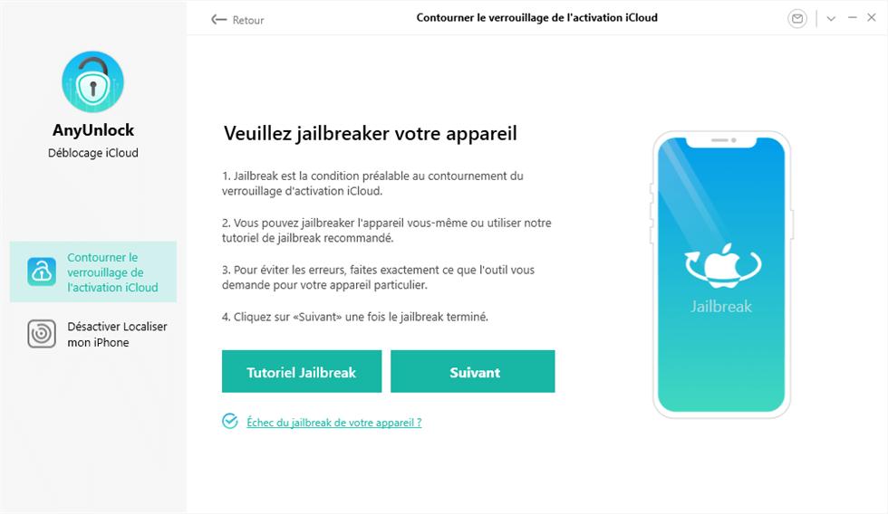 Jailbreak votre appareil iOS en suivant le tuto